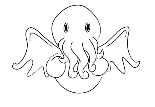 Crocheted Cthulhu Logo